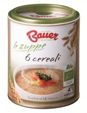Organic 6 cereals soup